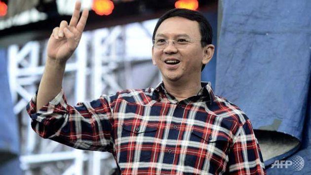Jakarta governor Basuki Tjahaja Purnama, Ahok won first round.,