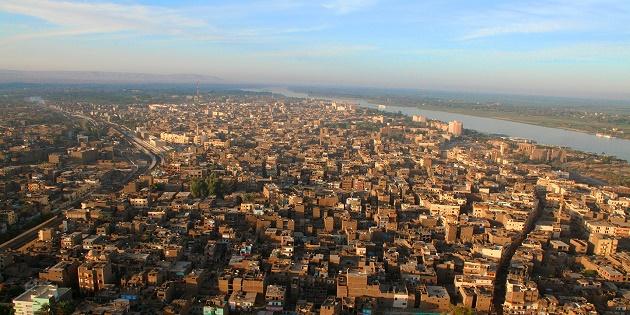 A view of Khartoum, in Sudan. ,Khartoum, Sudan