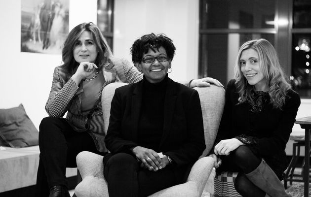 Anita Delhaas, Arleen Westerhof and  Noemi Mena, Restarter team. / Restarter,