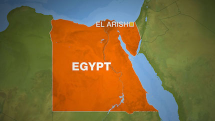 Many of the refugees are  from the city of El-Arish. / AlJazeera