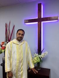 Mustafa became a Christian after a long spiritual search.
