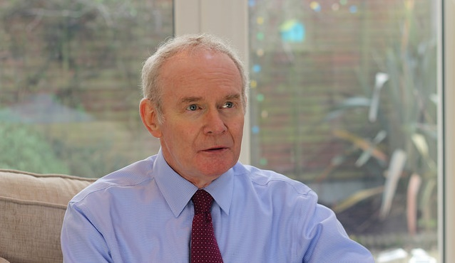 Martin McGuiness in January 2017. / S.F. (Flickr, CC),