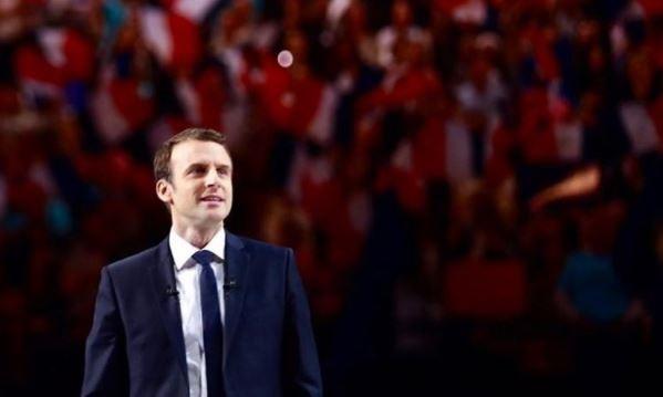 Emmanuel Macron. / Instagram En marche!,macron,