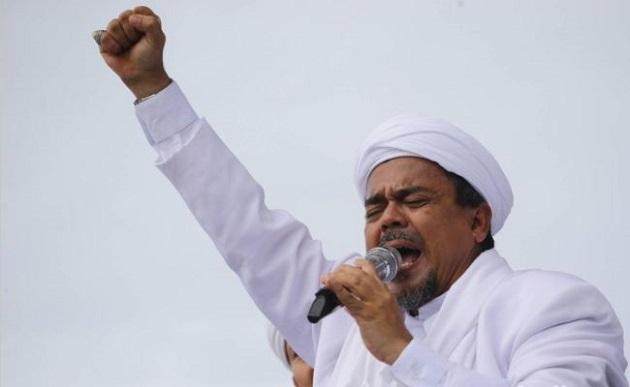Islamic Defenders Front leader, Rizieq Shihab. / Detik,