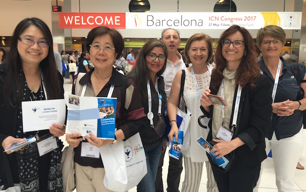 Some of the Christian participants of the congress. / Enfermeria Cristiana,enfermeria cristiana