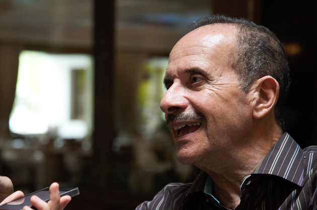 Ramez Atallah, speaking to Evangelical Focus, 24th May, in Wisla (Poland). / Photo: Daniel Hofkamp, EF,