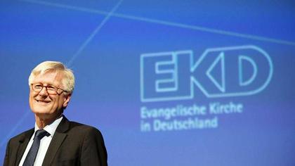 EKD's leader in Germany, Heinrich Bedford-Strohm.
