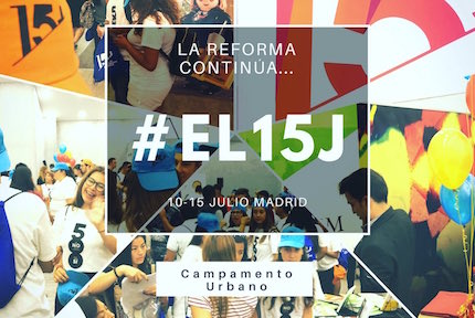 #el15j is the hasthag used to share the young celebrations of the Reformation.