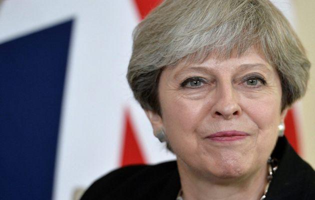 UK Prime Minister, Theresa May.,