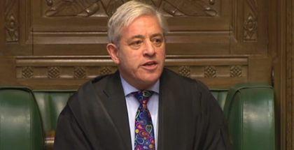 House of Commons speaker John Bercow. / PA