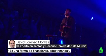 The tv channel portrayed Hillsong Barcelona as a cult. / La Sexta