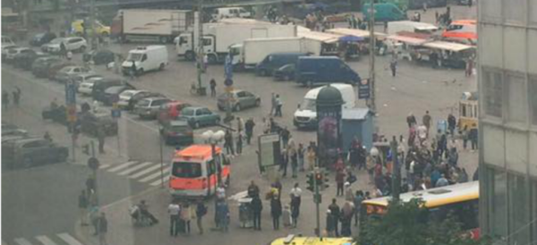 A view of the market place in Turku, Finland, after the attack. / Twitter,