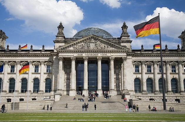 The Bundestag, Germany's national parliament. / J. Royan (CC),