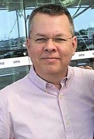 Andrew Brunson has been jailed since October 2016.