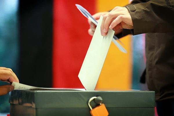 A previous vote in Germany. / EPA,