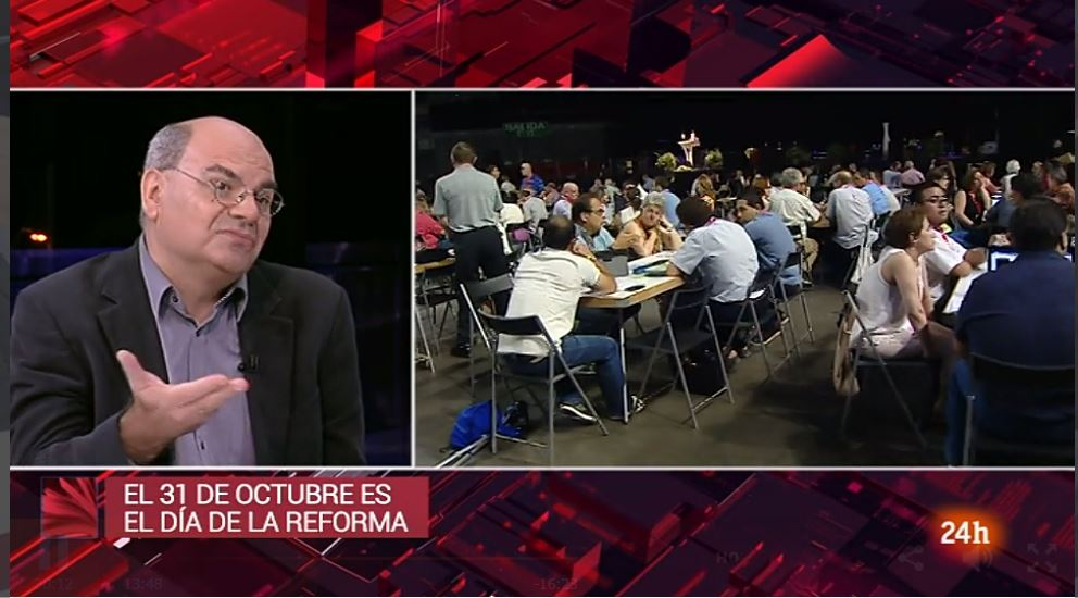 Spanish Protestants explained the Reformation on public television
