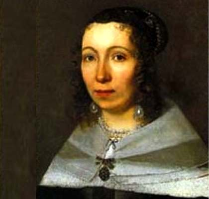 Portrait of María-Sibylla Merian.,