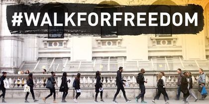 On October 14, thousands will walk for freedom in mrethan 150 cities.