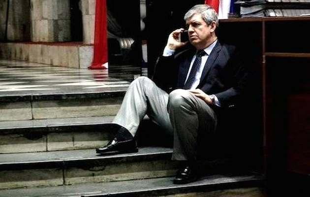 The education minister of Paraguay, Enrique Riera. / Gentileza,