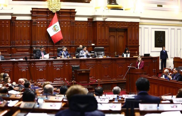 The Congress of Peru. / Facebook Congreso Peruano,