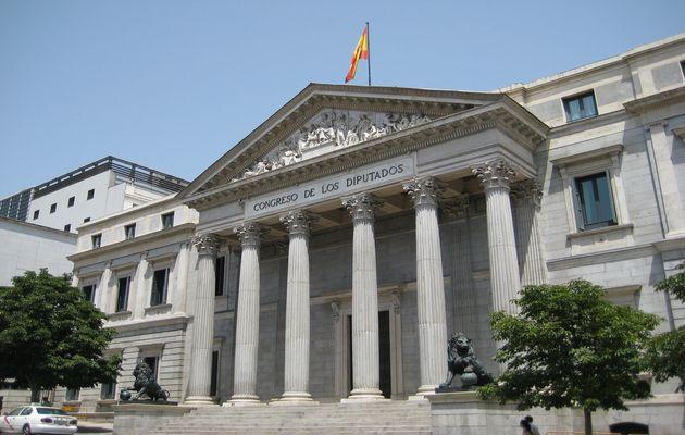 The Spanish Parliament.,