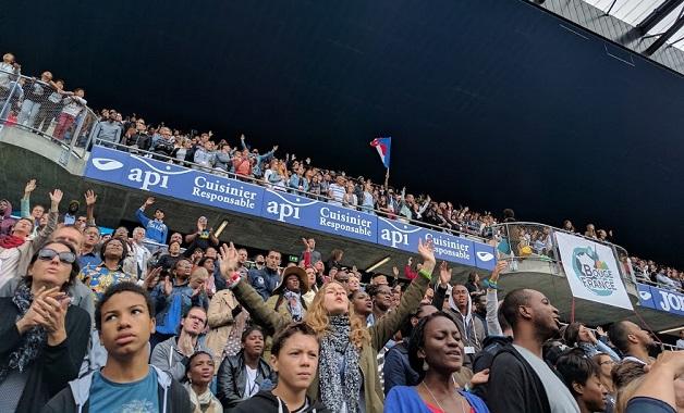 Evangelicals prayed for France in Le Havre. / CNEF