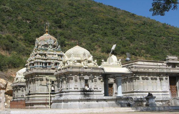Marudamalai Temple in Coimbatore District Tamil Nadu. India. / Wikimedia.,