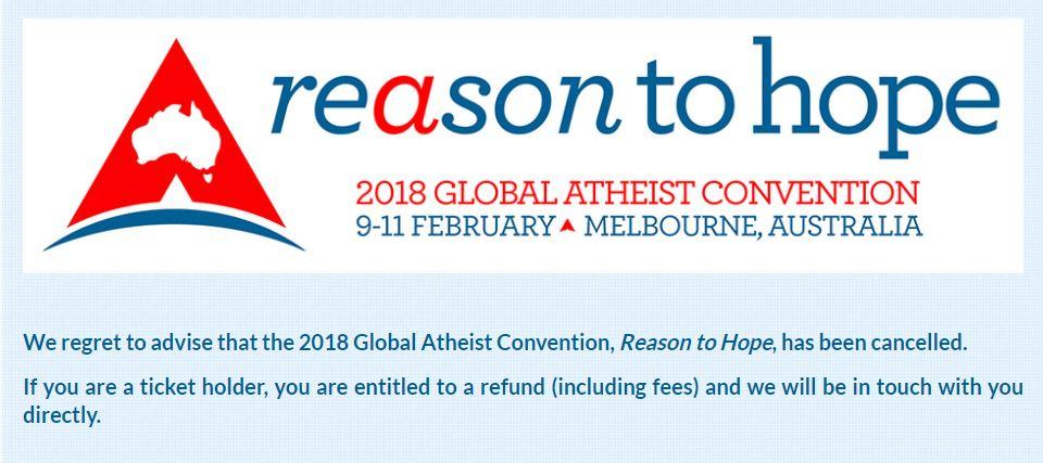 Screenshot of the Atheist Foundation of Australia website.