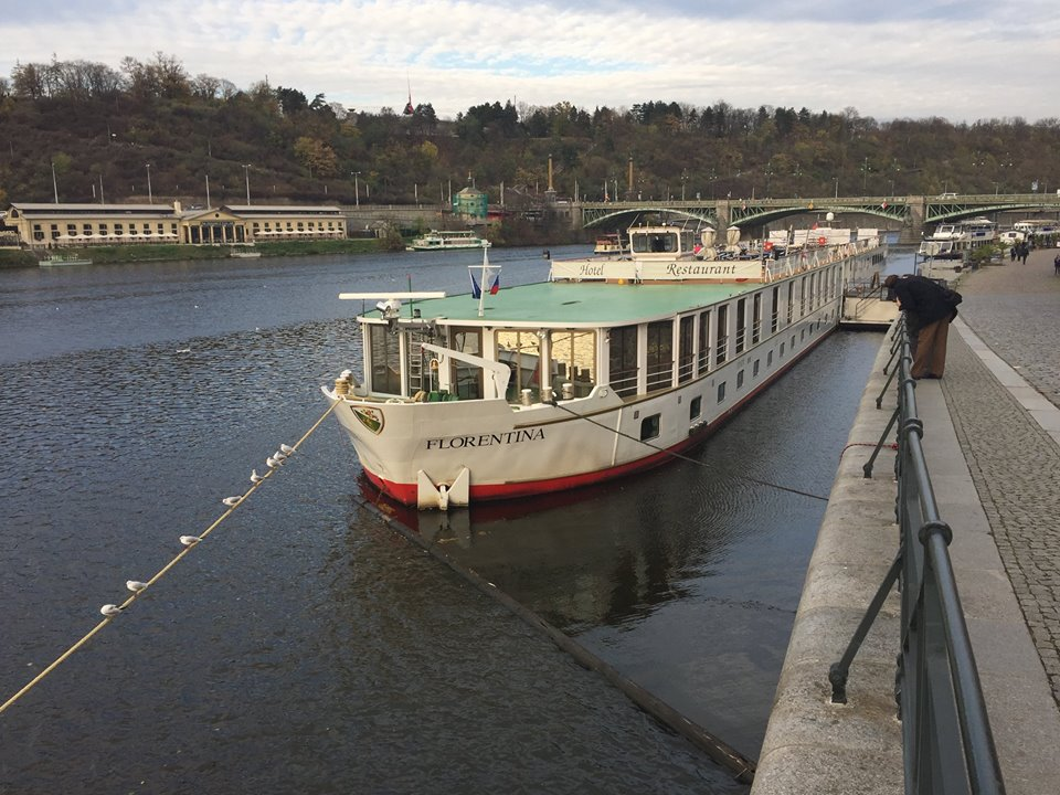 The riverboat in which the 2017 FEUER conference was held. / Tony Watkins