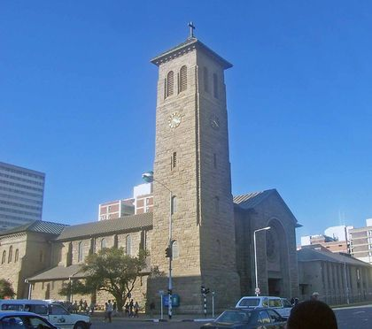 Anglican church in Harare. / Wikipeda commons.