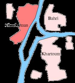 Omdurman, next to Sudan's capital city, Khartoum. / Wikipedia
