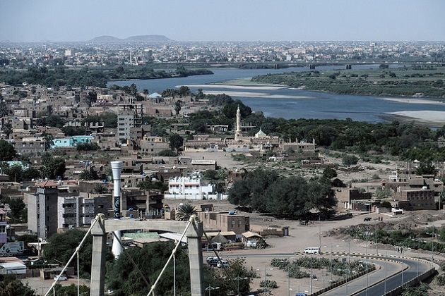 A view of Khartoum and the Nile, in Sudan. / C. Michel (Flickr, CC),