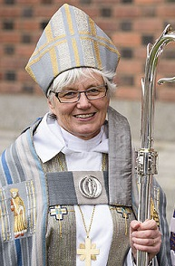 Archbishop Antje Jackelen, head of the Lutheran Church of Sweden. / M. Aronson (Wikimedia, CC)