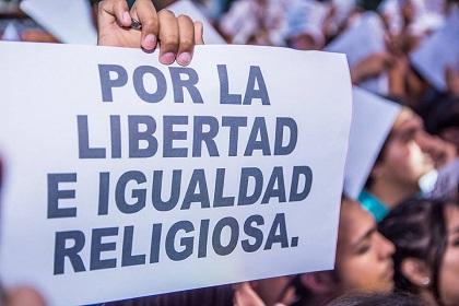 The Buenos Aires 2017 March for Jesus. / Photos:  Facebook - Marcho por Jesús