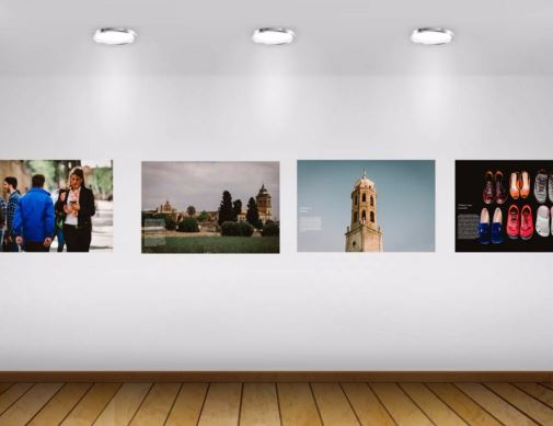 Pieces of the exhibition. / J.P. Serrano