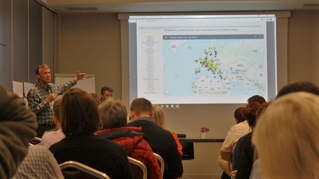 One of the sessions of a RHP Europe roundatble. / J. Forster,