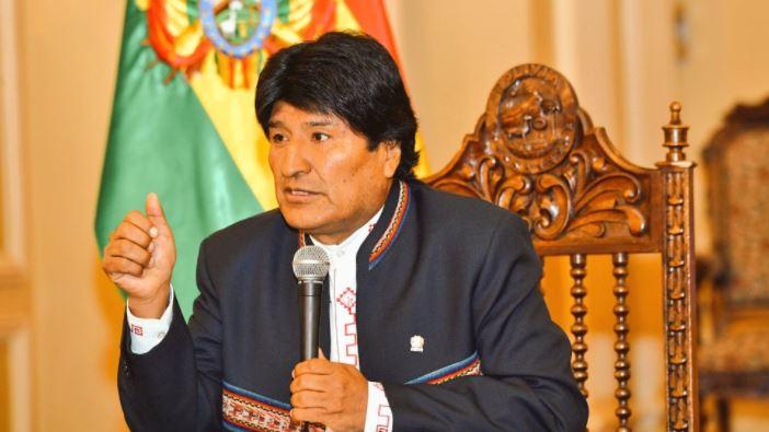 Evo Morales, President of Bolivia. / Facebook,
