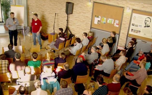 A church meeting in the Czech Republic. / Photo: Czech Evangelical Alliance,