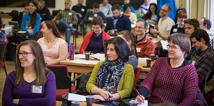 Attendees to a training event. / Czech Evangelical Alliance