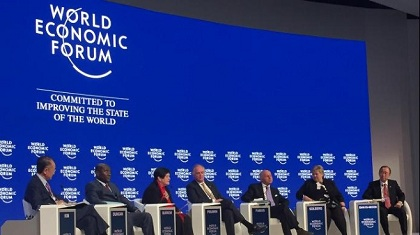 One of the conferences of the Forum. / WEF