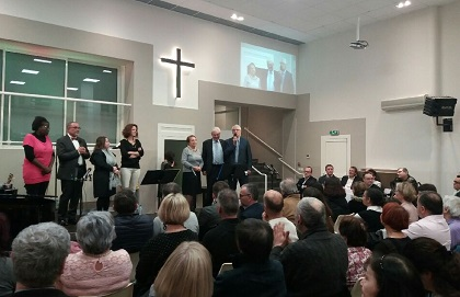 One of the special prayer gatherings in France. / CNEF