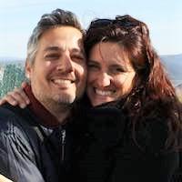 Sylvia Santoro and her husband, Rubén.