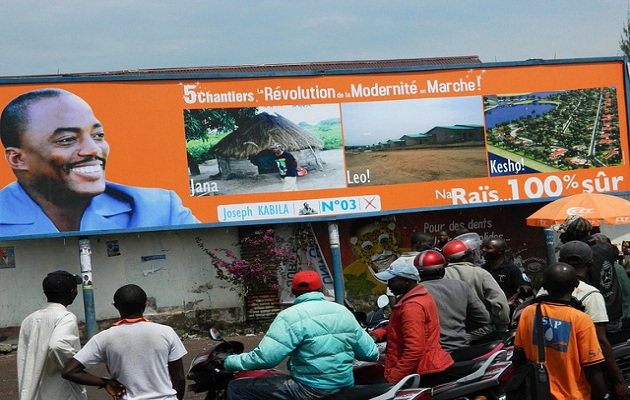 Kabila poster for 2011 elections. / Enough project (Flickr),