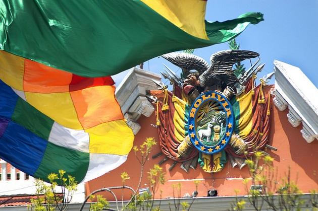The presidential palace of Bolivia. / Juan Alvaro (Flickr, CC0),