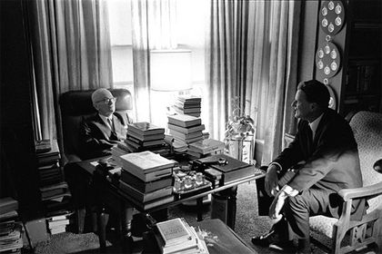 Graham's relationship with American presidents dated back to Harry Truman. / BGA