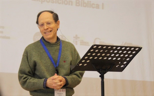Psychatrist and author Pablo Martinez was one of the speakers at the gathering of professionals in the fields of medicine, psychology, nursing and education, in Gandia, Spain. / J. Forster,