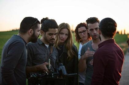 Members of the film crew.
