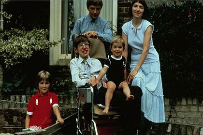 Stephen Hawking had three children with his first wife, Jane.