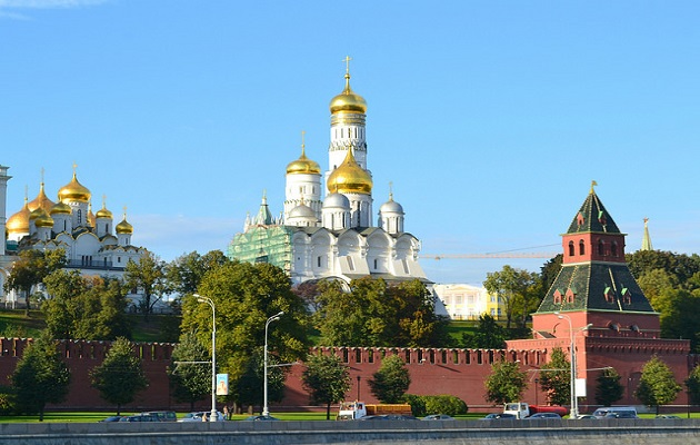 The building of the Kremlin, in Moscow. / Larry Koester (Flickr, CC),