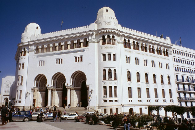 A Post office in Algiers, Algeria. / P. Gruban (Wikimedia Commons, CC),